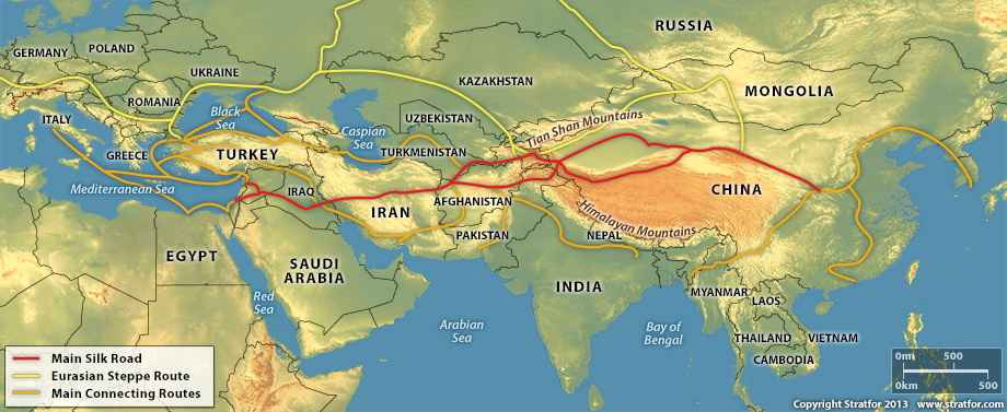 Drumurile Mătăsii Scurta Privire Istorică